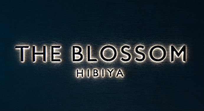 THE BLOSSOM HIBIYAロゴ
